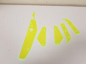 5 grün fluoreszierende Plastiks Flipper Williams Medieval Madness Flipperautomat