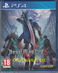Devil May Cry 5 PS4 Brand New Factory Sealed