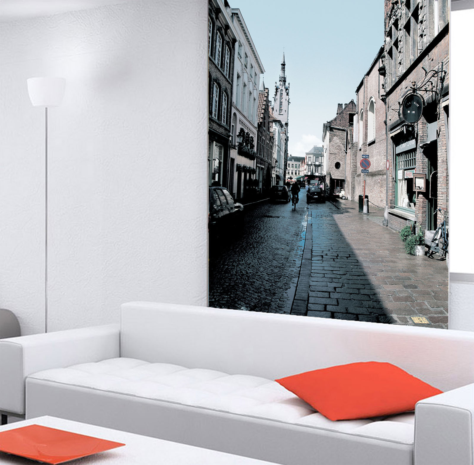 3D Ancient Town Alley 9 Wall Paper Wall Print Decal Wall Deco Wall Indoor Murals