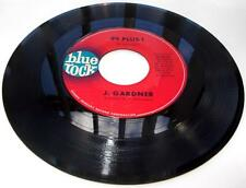 J Gardner 99 Plus 1 /Mustard Greens 1965 blue rock 4026 R&B Jazz 45rpm Strong VG