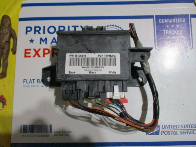 03 Chevrolet Trailblazer Liftgate Control Module Unit Oem For Sale Online Ebay