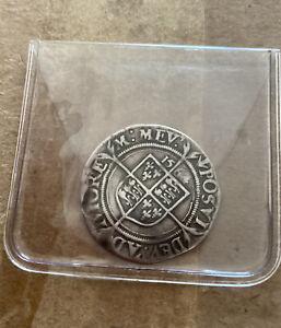 1564 Elizabeth I Sixpence Hammered Coin