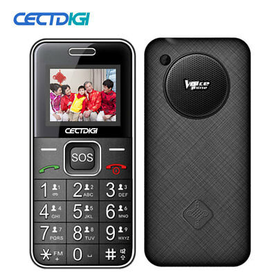 Senior old man Cellphone Bluetooth Dual SIM Card SOS Button Strong Torch T88