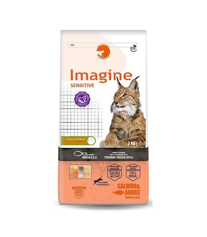 Cibo IMAGINE CAT sensibili per gatti adulti con digestione Sensibili