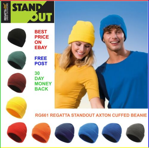PULL-ON Beanie Hat10 COLOURSRegatta Standout 100/% Soft Touch Cuffed Beanie