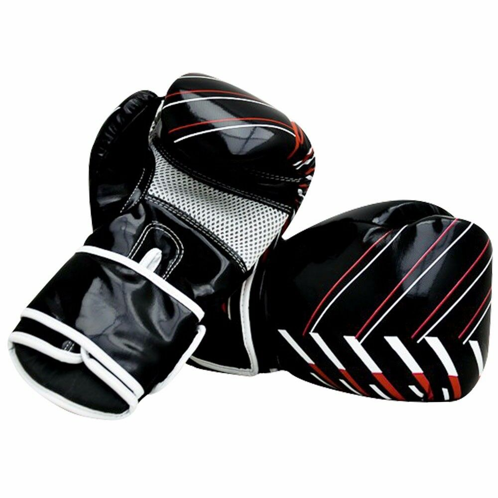 Maya Leder Boxhandschuhe Punch Punch Punch Kampf Training Muay Thai MMA Sparring c9efc2