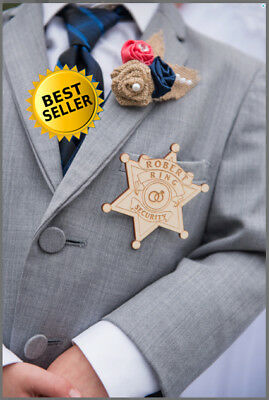 Ring Security Badge Ring Bearer Badge Ring Bearer Gift Wedding Ring Security