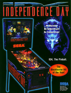 Independence day Pinball
