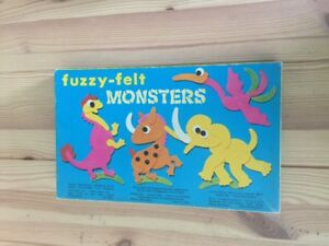 Fuzzy-Felt-Monsters-Vintage-Retro-Horror-Family-Fun