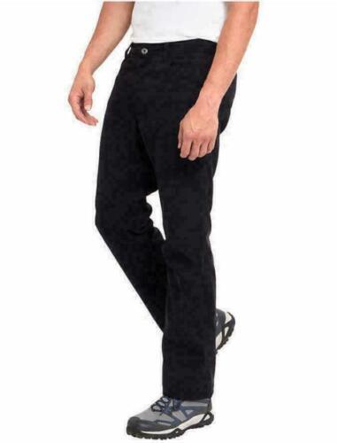 Eddie Bauer Men/'s Fleece Lined Water Resistant Stretch Pant Black Saddle NWT