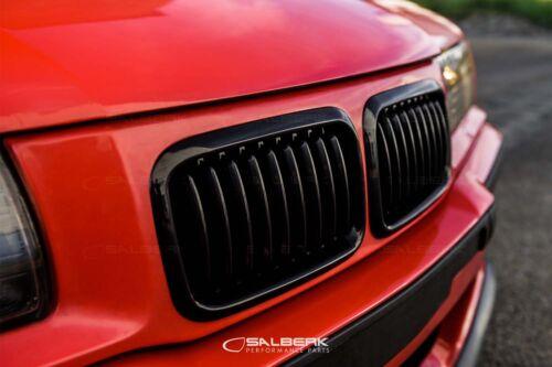 Noir Brillant rénale Front grill 3er BMW e36 Compact VfL m3 Salberk 3601