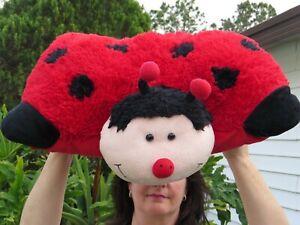 LARGE My Pillow Pets Ms Ladybug SUPER SOFT Plush Stuffed Animal Doll