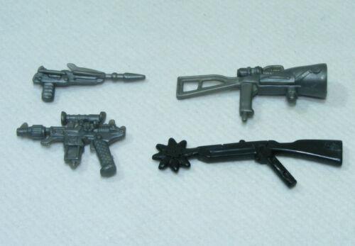 scie pistolet laser plasma accessoires GI JOE G.I. Lot 4 armes fantaisie espace