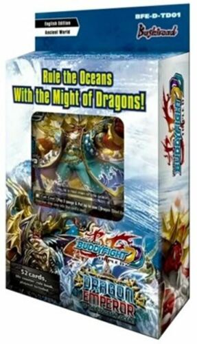 Dragon Emperor of the Colossal Ocean Trial Deck Starter Future Card Buddyfight