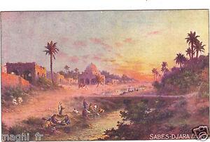 Tunesien-CPA-Sabes-Djara
