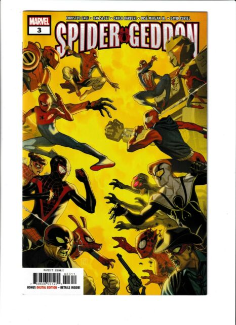 Spider-Geddon #3 NM- 9.2 Marvel,Spider-man,Miles Morales; $4 Flat-Rate Shipping!