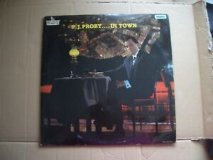 P J PROBY  IN TOWN  ORIGINAL MONO VINYL LP WITH A FLIPBACK SLEEVE - Margate, United Kingdom - P J PROBY  IN TOWN  ORIGINAL MONO VINYL LP WITH A FLIPBACK SLEEVE - Margate, United Kingdom
