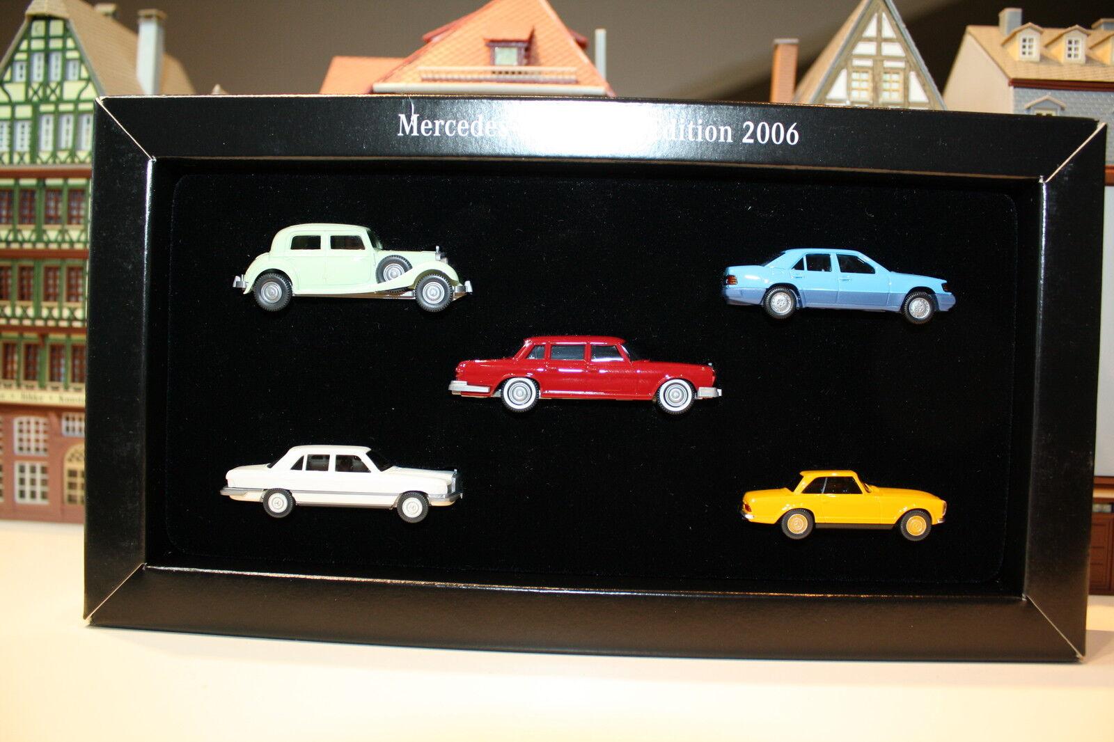 Mercedes-Benz Club Edition 2006 Set (Wiking H S 64