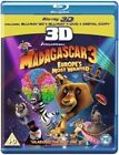 Madagascar 3 Europes Most Wanted 3d Blu-ray DVD
