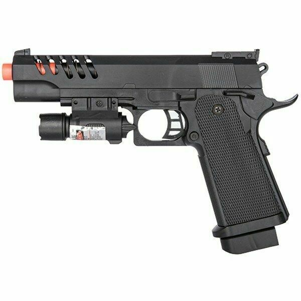Ukarms Tactical M1911 Spring Airsoft Pistol Hand Gun W Laser Sight 6mm Bb Bbs For Sale Online Ebay