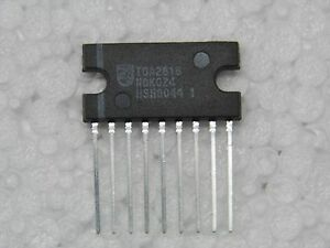Ci Tda 2616 Ic Tda2616 Sil9 2 X 12w Hi Fi Audio Power Verstärker Mit