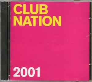 CLUB-NATION-2001-MINISTRY-of-SOUND-2-CD-Alb-Ripped-PC-Only-Perfect-Condition