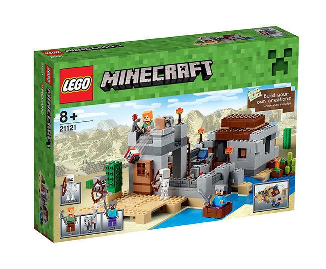 LEGO 21121 Minecraft Der Wüstenaußenposten - NEU