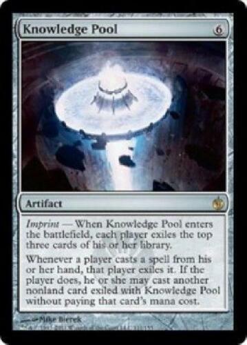 Knowledge Pool NM MTG Mirrodin Besieged Magic