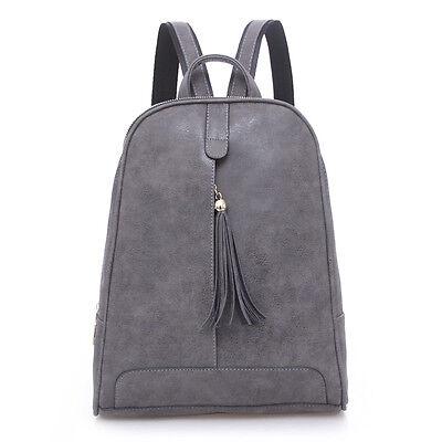 ... Neu Damen Rucksack Leder Tasche Damenrucksack Lederrucksack Tasche  Faschion ...