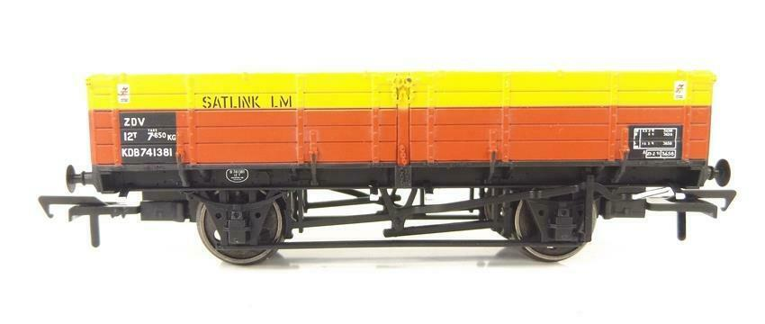 Bachmann - 38-702z - 12 Ton ZDV Pipe Wagon Satlink S&T KDB741381 Limited Edition