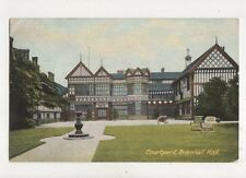 Courtyard Bramhall Hall 1906 Postcard 846a