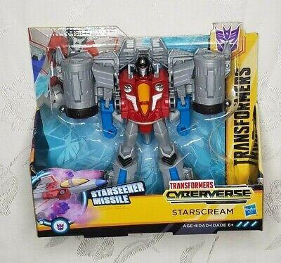 Transformers Cyberverse Ultra Class Starscream Starseeker Missle BRAND NEW!