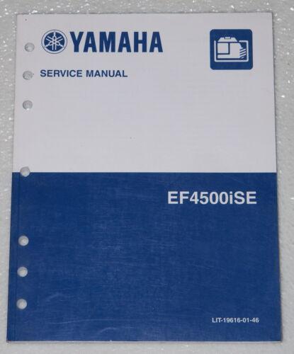 yamaha ef4500ise generator service manual oem factory dealer shop rh ebay com yamaha ef 600 generator service manual yamaha ef 1000 generator service manual