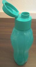 Tupperware C 139 Eco Easy 750 ml Trinkflasche Trinkverschluss Türkis Neu OVP