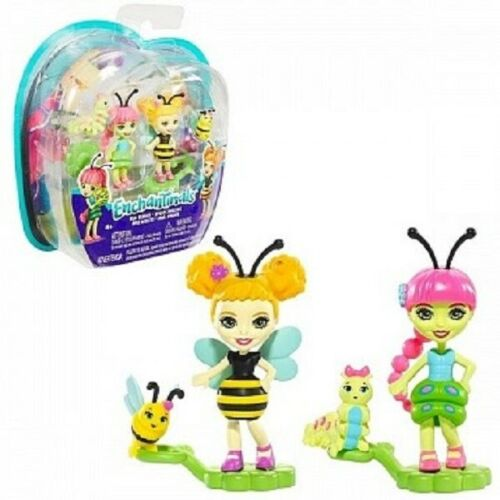 Enchantimals 2er Pack Bug Buddies Blütenpark Freunde NEU OVP
