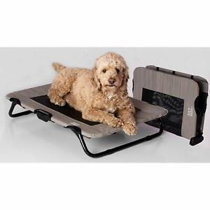 Pet-Gear-Dog-Cat-Cot-Indoor-Outdoor-Elevated-Raised-Waterproof-Harbor-Gray-30-034