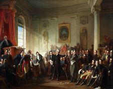 Schussele Christian Andrew Jackson Before Judge Hall Canvas 16 x 20    #7000