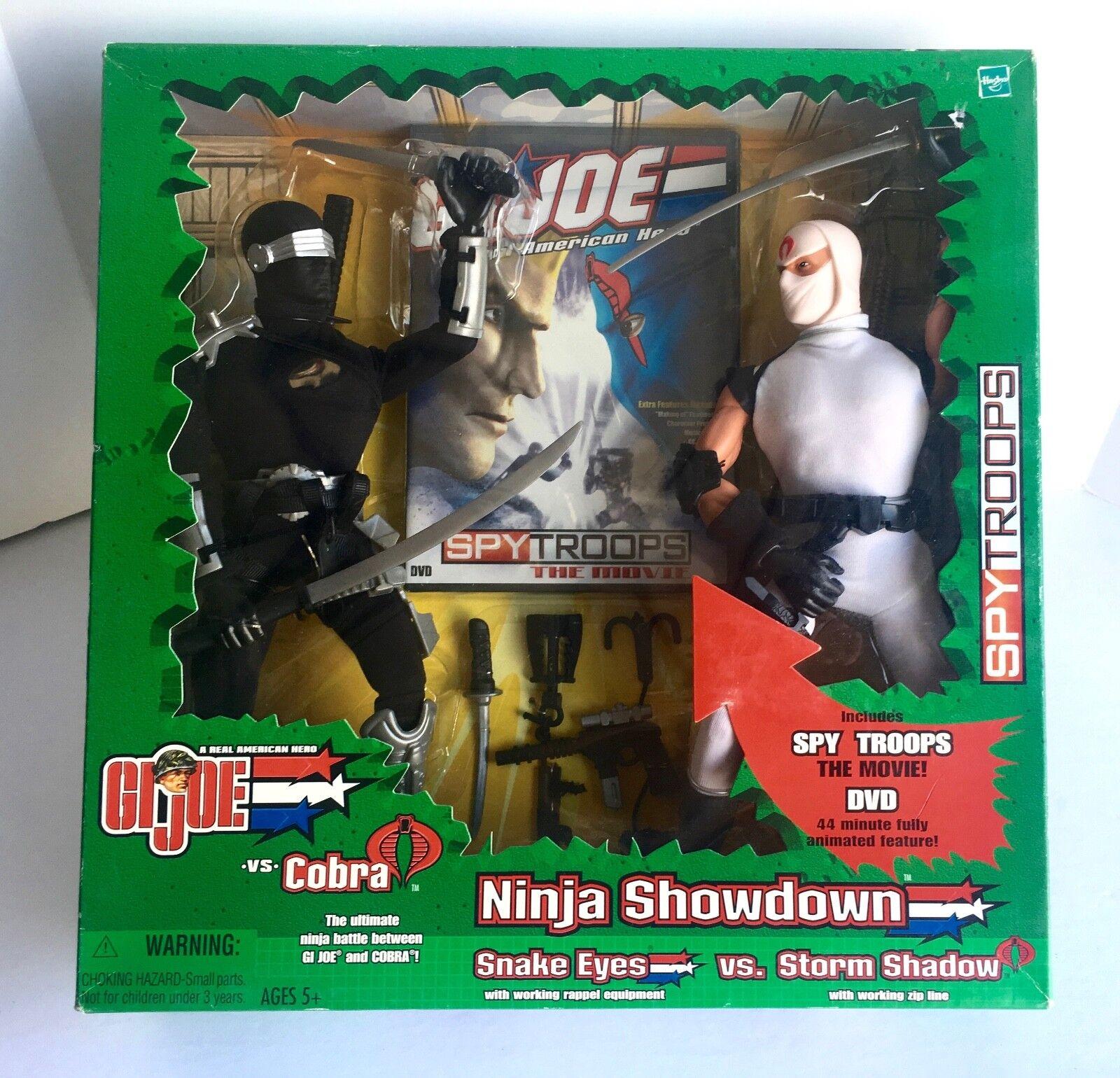 G. I. Joe NINJA SHOWDOWN Snake Eyes vs. Storm Shadow GJ-5