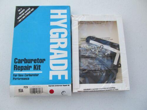 Hygrade 953A Carburetor Rebuild Kit 79-80 GM 3.8L Rochester 2-BBL M2MC M2ME E2ME