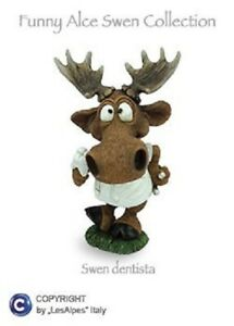 Figurine-Moose-Swen-Les-Alpes-Funny-World-Collect-dentista-Resin-014-92901