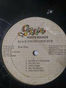 Augustus-034-Gussie-034-Clarke-Black-Foundation-Dub-Various-Artists-Vinyl-LP-1977
