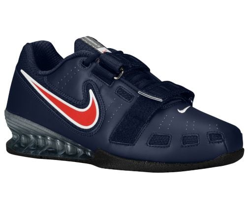 Nike Romaleos 2 Power Lifting- homme Weightlifting chaussures, Obsidian, 76927460