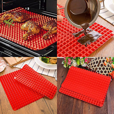 Pyramid Pan Silicone Kitchen Baking Mat For Healthy Cooking Non Stick Bake Mat F