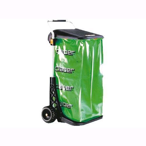 Carrello Raccoglitutto Claber Carry Eco In Alluminio Con Sacco 8934