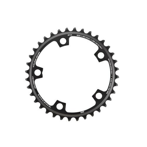 Black SRAM BCD110 x 5Bolts 36T 11-Speed Road Inner Chainring