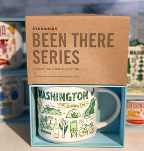 NEW Washington starbucks been there series mug 14oz- See Other Listings 4 More!
