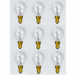 Backofen-Lampe bis 300° Tropfenlampe E14 25W Herd-Glühbirne Lampe für Backofen