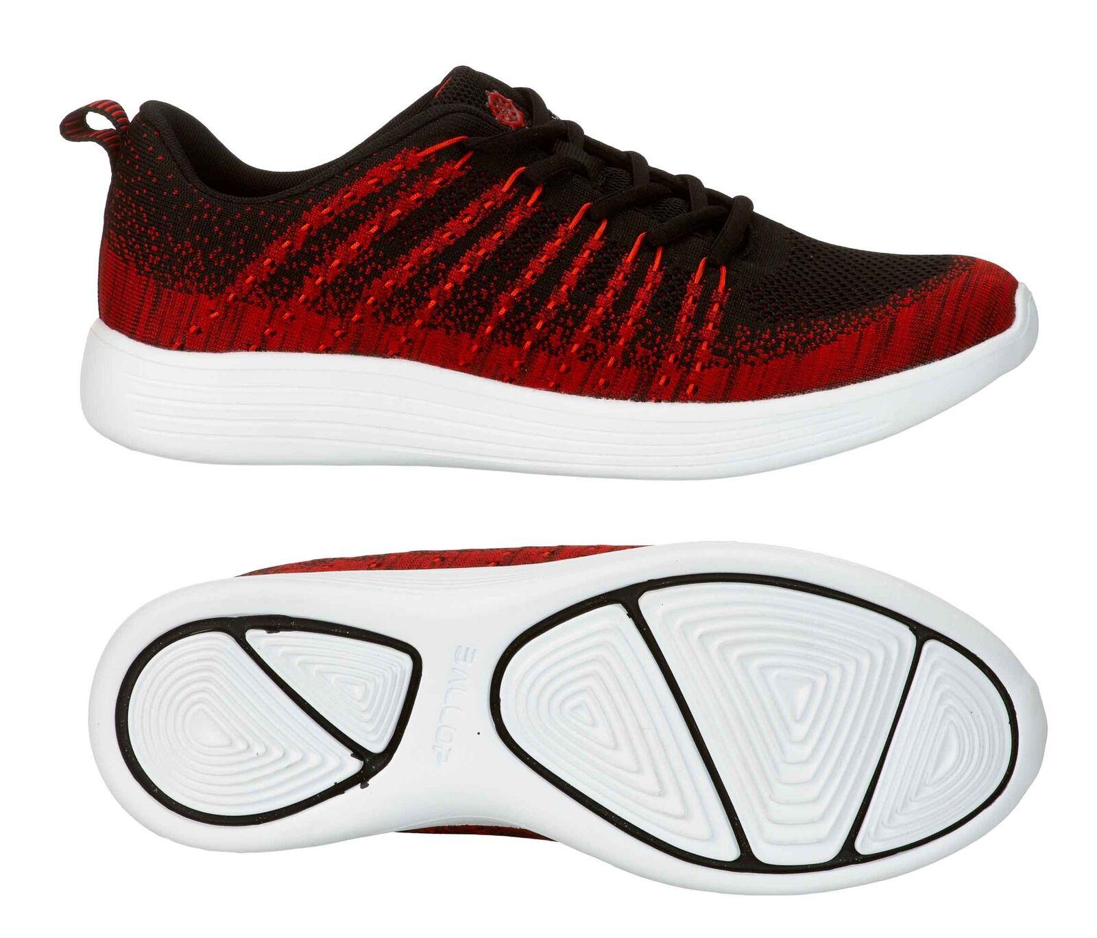BALLOP Turnschuhe  Mix  schwarz-rot