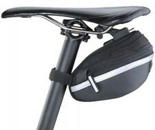 Topeak Expandable Wedge Saddle Bag II Small MTB Bicycle Bike Pouch + Rain Cover
