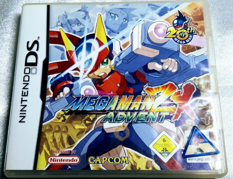 NINTENDO DS - MEGAMAN ZX ADVENT + FREE SHIPPING